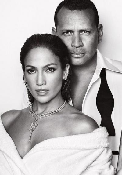 Дженнифер Лопес и Алекс Родригес в фотосессии для Vanity Fair