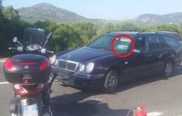 Джордж Клуни попал в ДТП в Италии