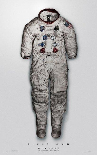 Новый постер байопика «Человек на Луне» с Райаном Гослингом