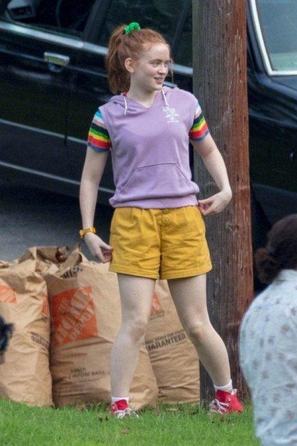 Фото со съёмок третьего сезона «Очень странных дел»
