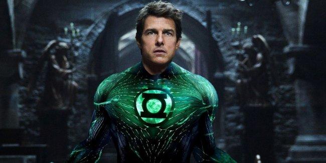 Том Круз отказался от роли Зелёного Фонаря в перезапуске франшизы