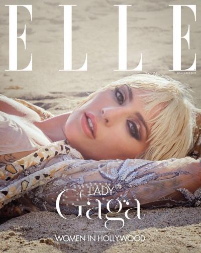 Леди Гага украсила страницы издания ELLE
