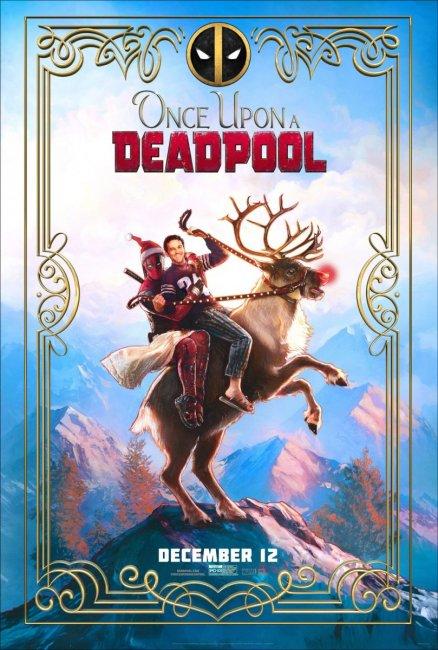 Праздничный постер новой версии «Дэдпула 2» с PG-13